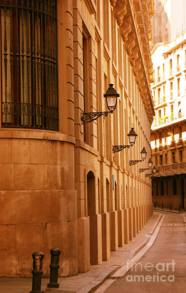 Wall Art - Photograph - Street In Barcelona by Sophie Vigneault