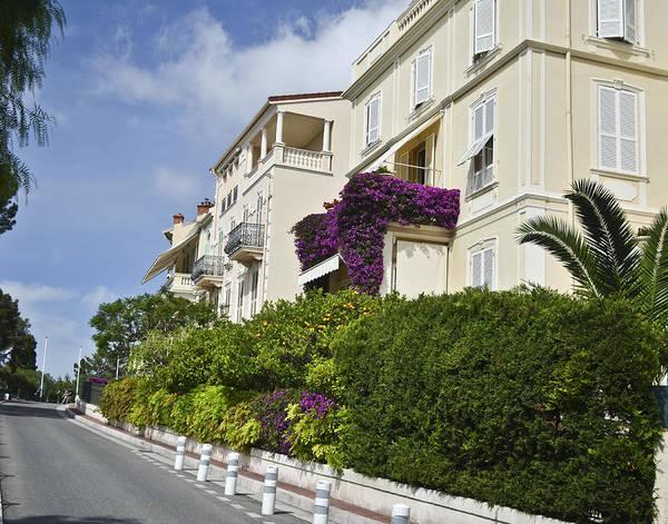 Photograph - Street In Monaco by Allen Sheffield