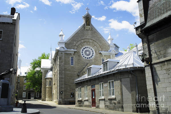 Photograph - Street In Quebec by Brenda Kean