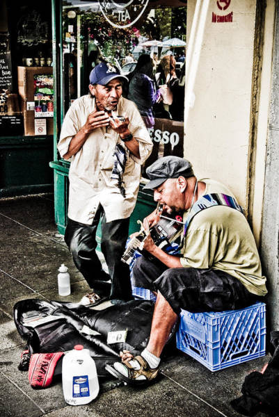 Photograph - Street Jammin by Jim Thompson