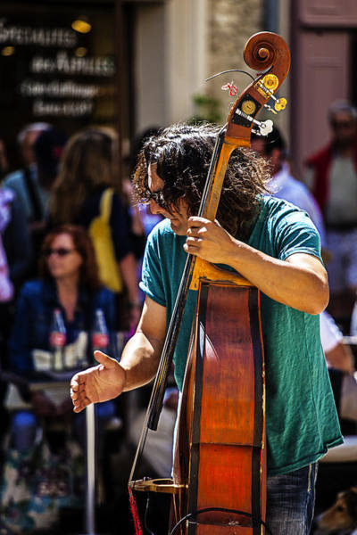 Photograph - Street Jazz - St. Remy Style by John  Nickerson