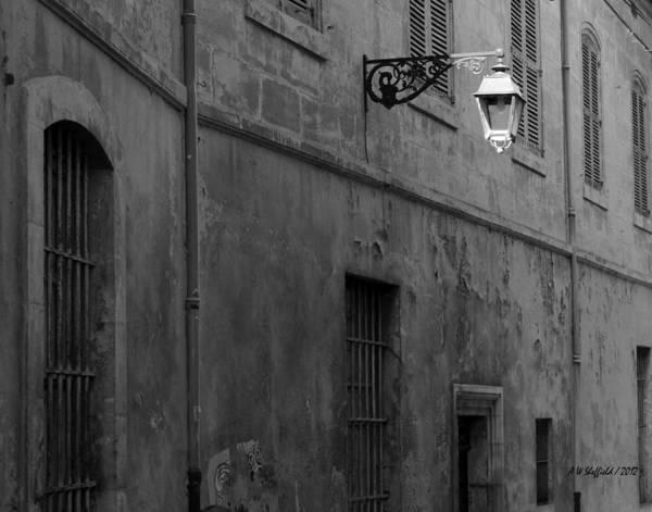 Photograph - Street Lamp by Allen Sheffield