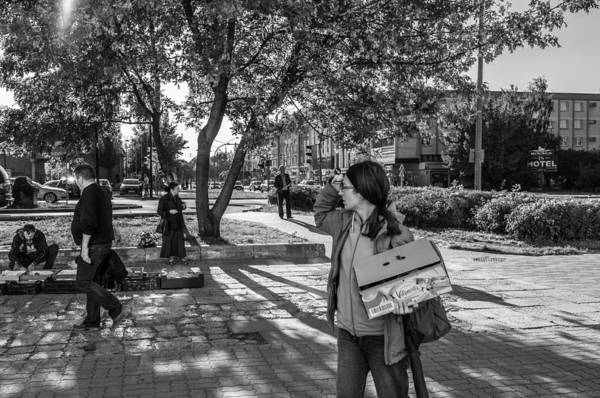 Photograph - Street Life by Tgchan