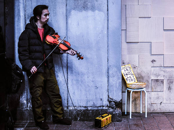 Wall Art - Photograph - Street Music by Ryan Routt