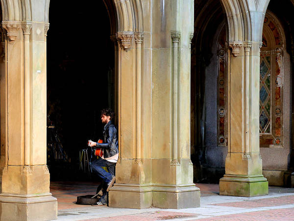 Photograph - Street Musician 4 by Andrew Fare