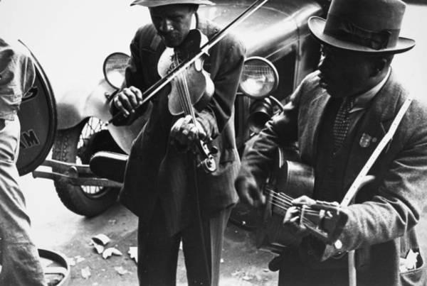 Photograph - Street Musicians, 1935 by Granger