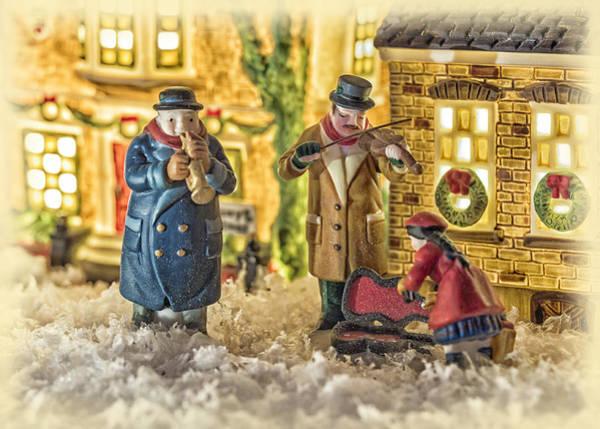 Weihnachten Photograph - Street Musicians by Caitlyn  Grasso