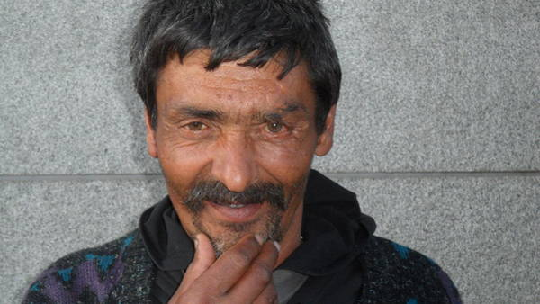 Photograph - Street People - A Touch Of Humanity 18 by Teo SITCHET-KANDA