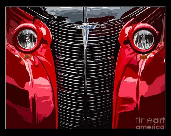 Wall Art - Photograph - Street Rod Poster by Perry Webster