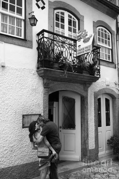 Photograph - Street Romance In Portugal by James Brunker