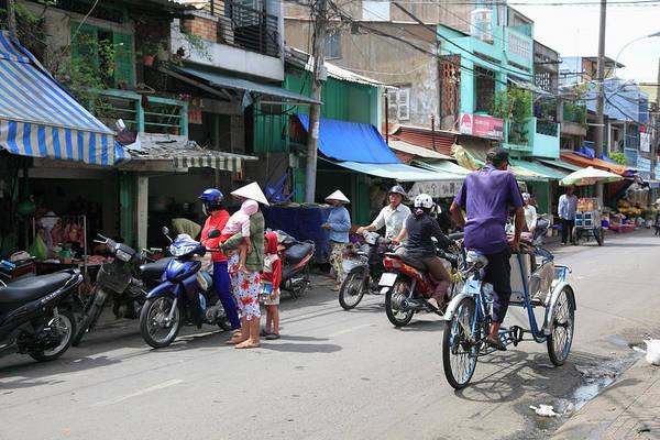 Street Scene, Cholon, Chinatown, Ho Chi Art Print
