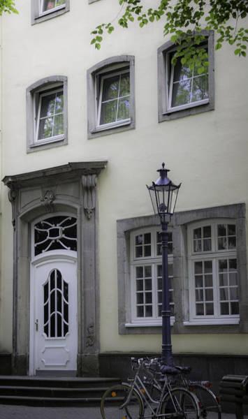 Wall Art - Photograph - Street Scene In Cologne by Teresa Mucha
