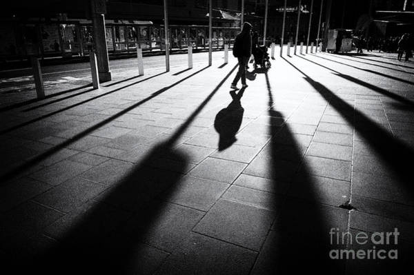 Photograph - Street Shadow by Yew Kwang
