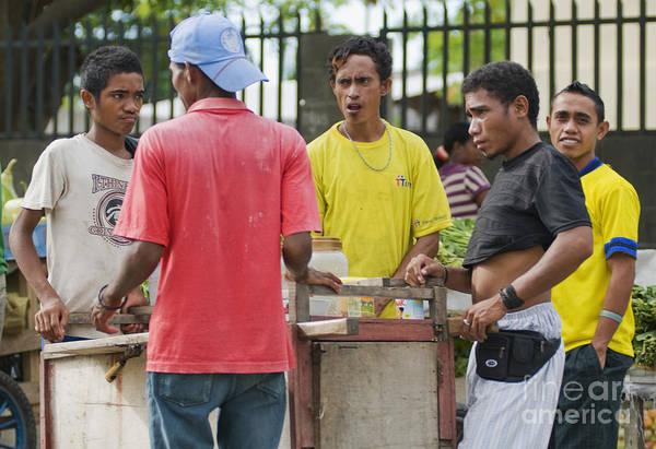 Photograph - Street Vendor In Timor-leste by Dan Suzio