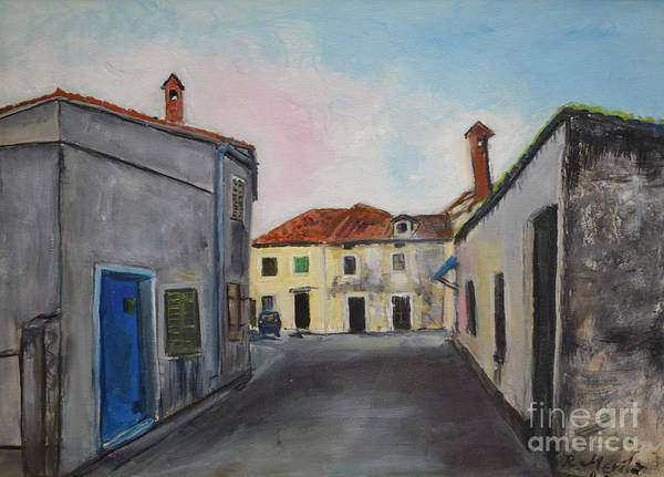 Street View From Kavran Art Print