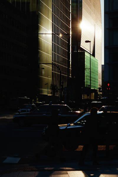 Photograph - Street View Of Marunouchi During by Yuko Yamada