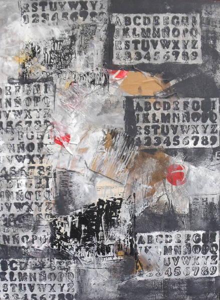 Typo Painting - Streetart  by Sonja  Zeltner