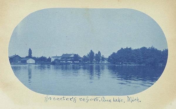 Streeters Resort, Gun Lake, Michigan, Usa Art Print
