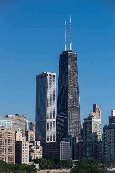 Hancock Tower Photograph - Streeterville Chicago Illinois by Steve Gadomski