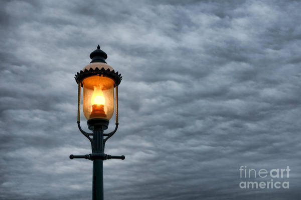 Lamppost Photograph - Streetlight by Olivier Le Queinec
