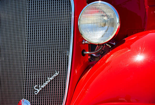 Street Rods Photograph - Streetrod by Ricky Barnard