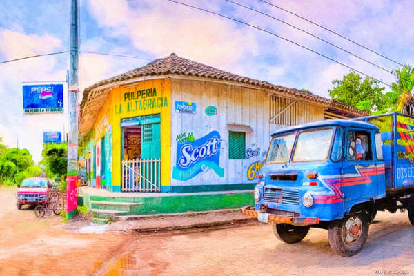 Wall Art - Photograph - Streets Of A Tropical Village - Timeless Nicaragua by Mark Tisdale