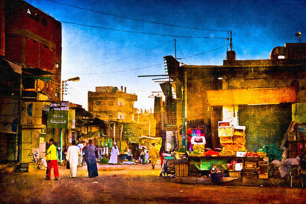 Photograph - Streets Of An Egyptian Village by Mark Tisdale