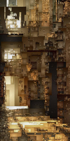 Digital Art - Streets Of Gold by David Hansen