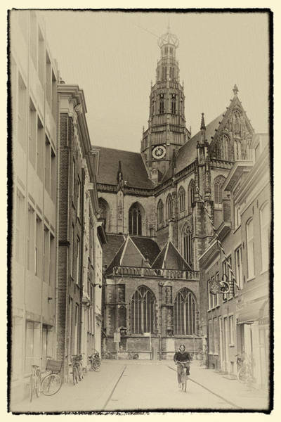 Photograph - Streets Of Haarlem by Joan Carroll