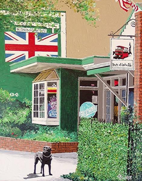 Streets Of London Pub Art Print by Paul Guyer