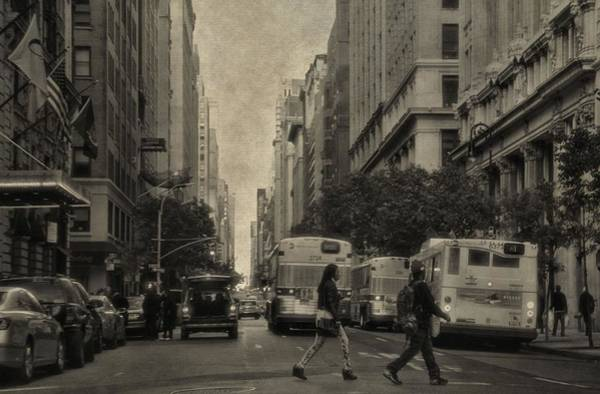 Photograph - Streets Of New York City by Dan Sproul