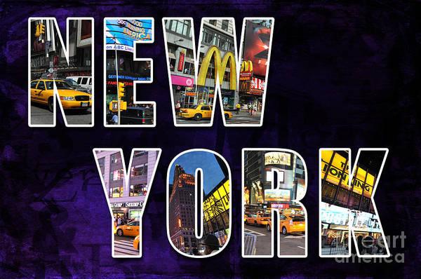 Photograph - Streets Of New York by Randi Grace Nilsberg