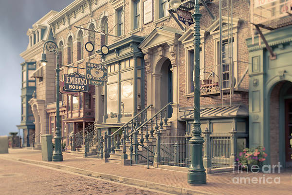Photograph - Streets Of Old New York City Tilt Shift by Edward Fielding