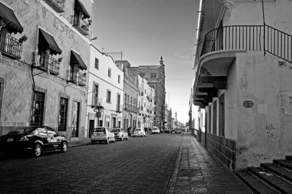 Photograph - Streets Of Puebla 6 by Lee Santa