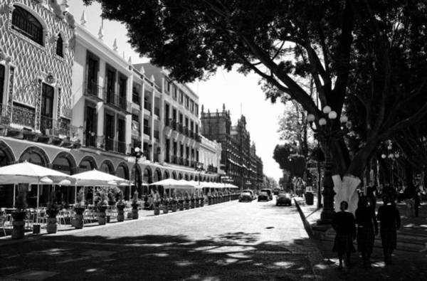 Photograph - Streets Of Puebla 7 by Lee Santa