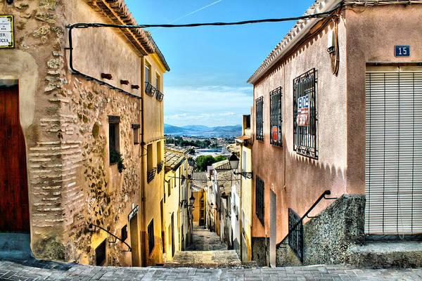 Photograph - Streetview Biar by Pedro Fernandez