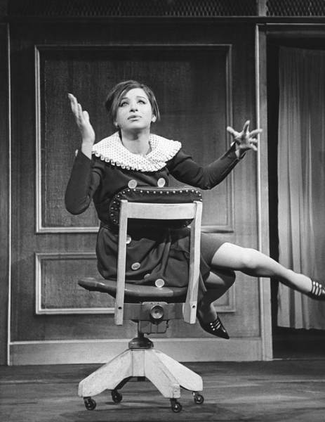 Entertainer Photograph - Streisand Broadway Debut by Underwood Archives