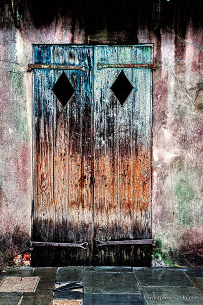 Photograph - Stressed Door by Christopher Holmes