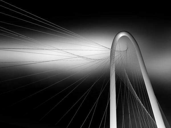 Wire Photograph - String Bridge by Antonyus Bunjamin (abe)