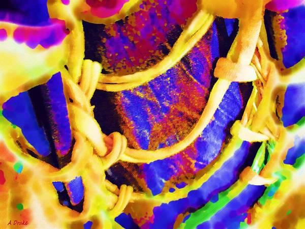 Digital Art - String Theory by Alec Drake