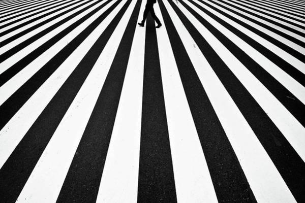 Perspective Wall Art - Photograph - Stripe by Kouji Tomihisa