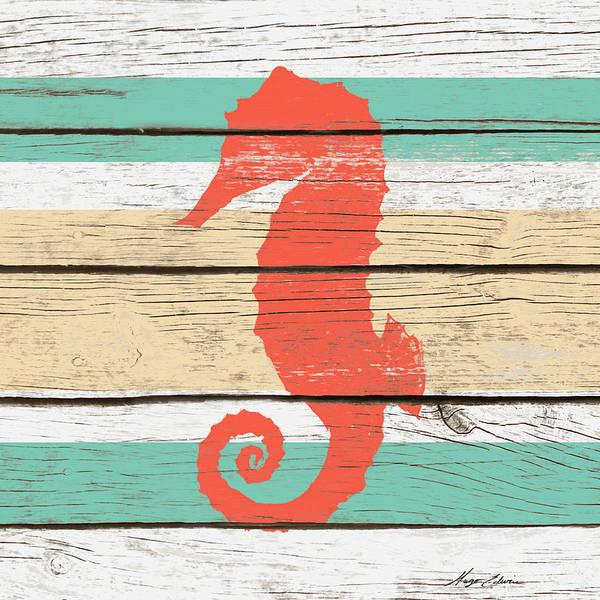 Wall Art - Digital Art - Striped Sea Creature II by Hugo Edwins