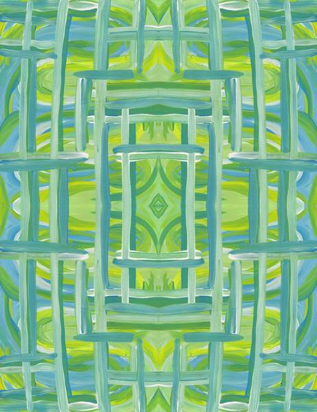 Painting - Stripes And Lines Vertical by Barbara St Jean