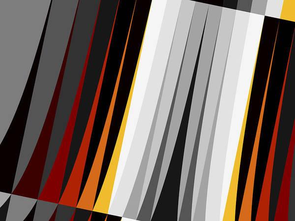 Wall Art - Digital Art - Stripes by David Ridley