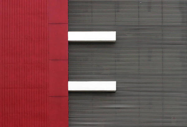 Simple Wall Art - Photograph - Stripes by Hans-wolfgang Hawerkamp