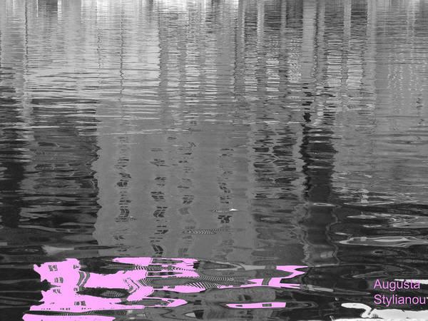 Digital Art - Stripes In The Water by Augusta Stylianou