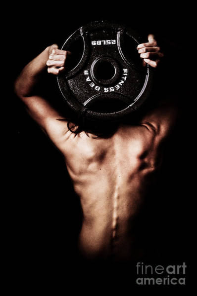 Lifting Photograph - Strong Back And Arms by Jt PhotoDesign