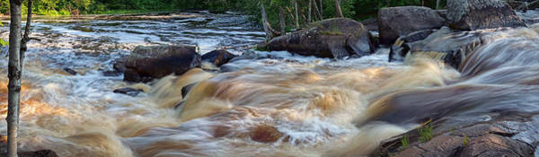 Photograph - Strong Falls Panorama by Theo O Connor