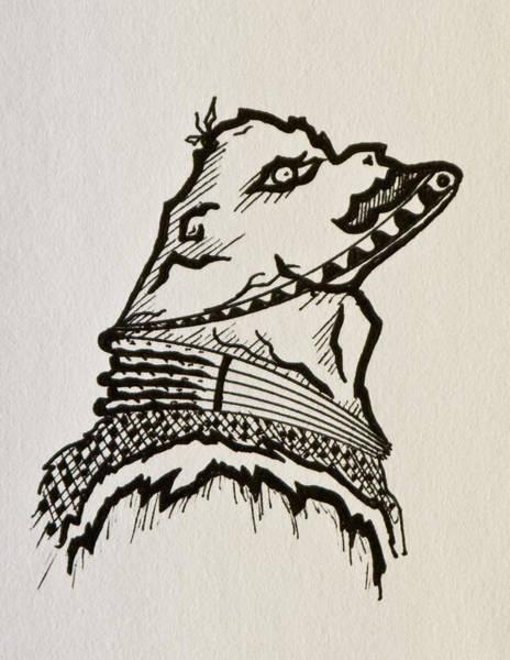 Drawing - Ogre by Jason Girard