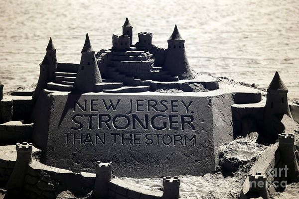 Down The Shore Photograph - Stronger Than The Storm by John Rizzuto